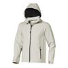 Langley softshell jacket in light-grey