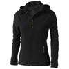 Langley softshell ladies Jacket in black-solid