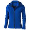 Langley softshell ladies Jacket in blue