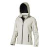 Langley softshell ladies Jacket in light-grey