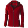 Langley softshell ladies Jacket in red