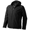 Smithers fleece lined Jacket in black-solid