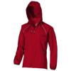 Nelson packable ladies Jacket in red
