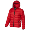 Norquay insulated ladies jacket in red