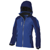 Ozark insulated ladies Jacket in blue-and-navy