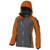 Ozark insulated ladies Jacket in orange-and-grey