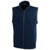 Tyndall micro fleece bodywarmer in navy