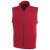 Tyndall micro fleece bodywarmer in red