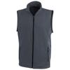 Tyndall micro fleece bodywarmer in storm-grey