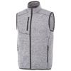 Fontaine knit bodywarmer in heather-grey