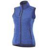 Fontaine ladies knit bodywarmer in heather-blue