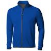 Mani power fleece full zip Jacket in blue