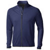 Mani power fleece full zip Jacket in navy