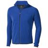 Brossard micro fleece full zip Jacket in blue