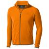 Brossard micro fleece full zip Jacket in orange