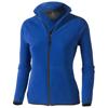 Brossard micro fleece full zip ladies Jacket in blue