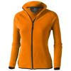 Brossard micro fleece full zip ladies Jacket in orange