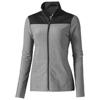 Perren ladies knit jacket in heather-grey