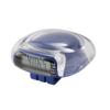 Pedometer in blue-clear