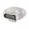 Pedometer in white-clear