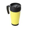 Travel Mug in yellow-black