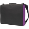 Knowlton Delegate Bag in black-and-purple