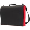 Knowlton Delegate Bag in black-and-red