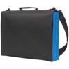 Knowlton Delegate Bag in black-and-royal