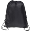 Knole Premium Drawstring Bag in black
