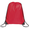 Knole Premium Drawstring Bag in red