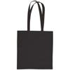 Sandgate 7oz Cotton Canvas Tote Bag in black