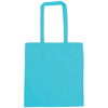 Snowdown Premium Cotton Tote Bag in aqua