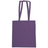 Snowdown Premium Cotton Tote Bag in purple