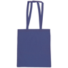 Snowdown Premium Cotton Tote Bag in royal