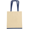 Eastwell 4.5oz Cotton Tote Bag in natural-and-blue