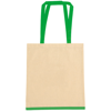 Eastwell 4.5oz Cotton Tote Bag in natural-and-green