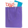 Chatham Budget Tote/Shopper Bag in purple