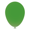 12 Inch Latex Balloons in green