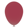12 Inch Latex Balloons in maroon