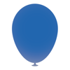 12 Inch Latex Balloons in mid-blue