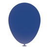 10 Inch Latex Balloons in dark-blue