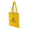 Coloured Cotton Shopper in yellow