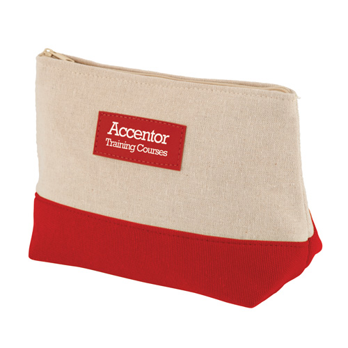 Amenity Bag in red