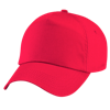 Original Cotton Cap in bright-red