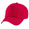 Original Cotton Cap in classic-red