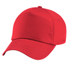 Kids Original Cotton Cap in bright-red