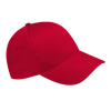 Ultimate Cotton Cap in classic-red