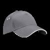 Ultimate Cotton Cap with Sandwich Peak in graphite-grey