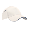 Ultimate Cotton Cap with Sandwich Peak in putty