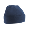 Acrylic Knitted Hat in french-navy